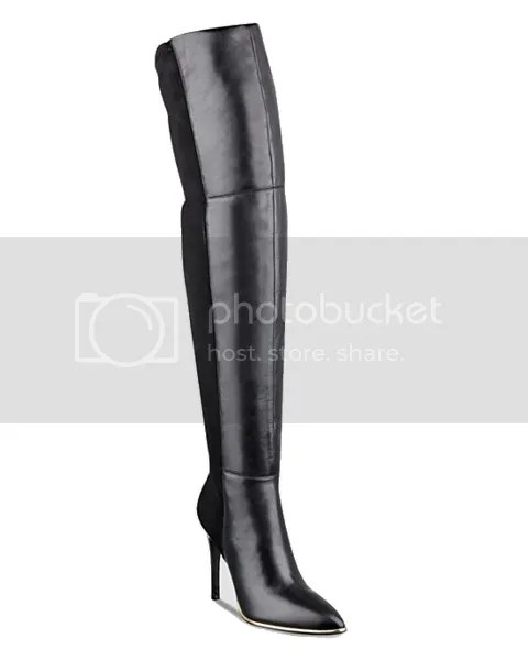 guess zonia over the knee boots black