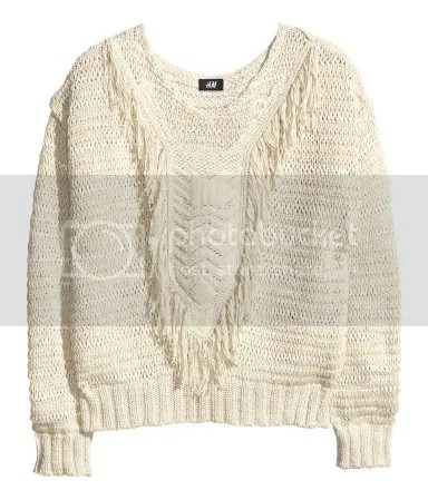 ashleigh jean blog fashion in flight gift guide holiday hm h&m h and m fringe sweater