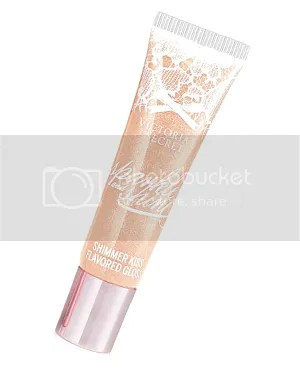 VS Victoria's secret shimmer kiss lipgloss flavor caramel