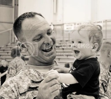 Military Homecoming Photos