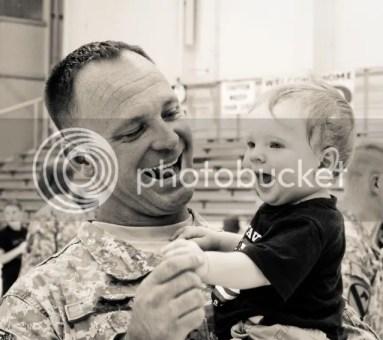 Military Homecoming Photos