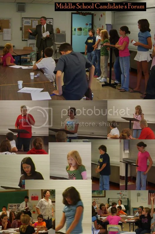 middle school candidates