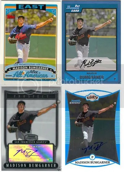 Madison Bumgarner Baseball Cards