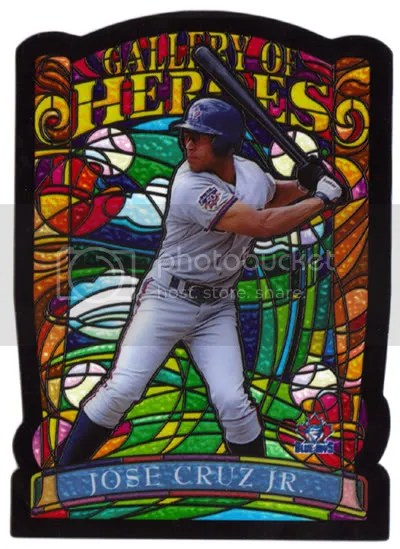 Jose Cruz Jr. Jumbo Baseball Card