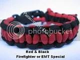 Red & Black Firefighter