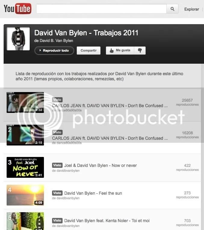 Trabajos de David Van Bylen 2011