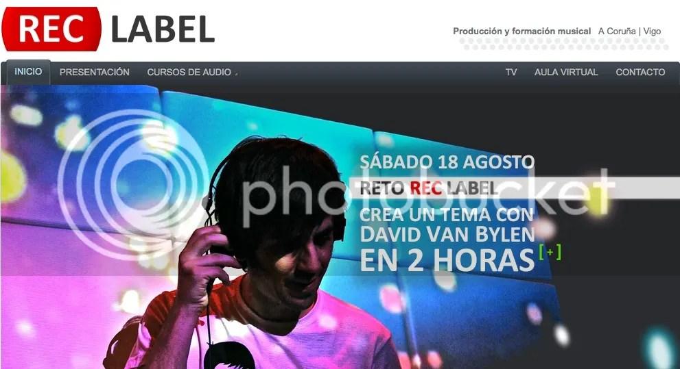 + info Masterclass David Van Bylen @ REC label