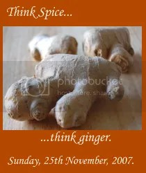 Think Spice... Think Ginger!
