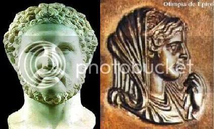 filipo II vs olimpia de epiro