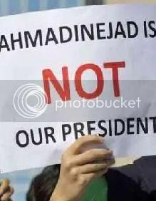 protesta por la elecciones de iran