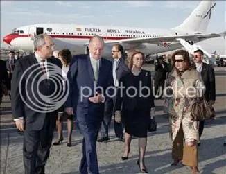 visita reyes de españa a egipto