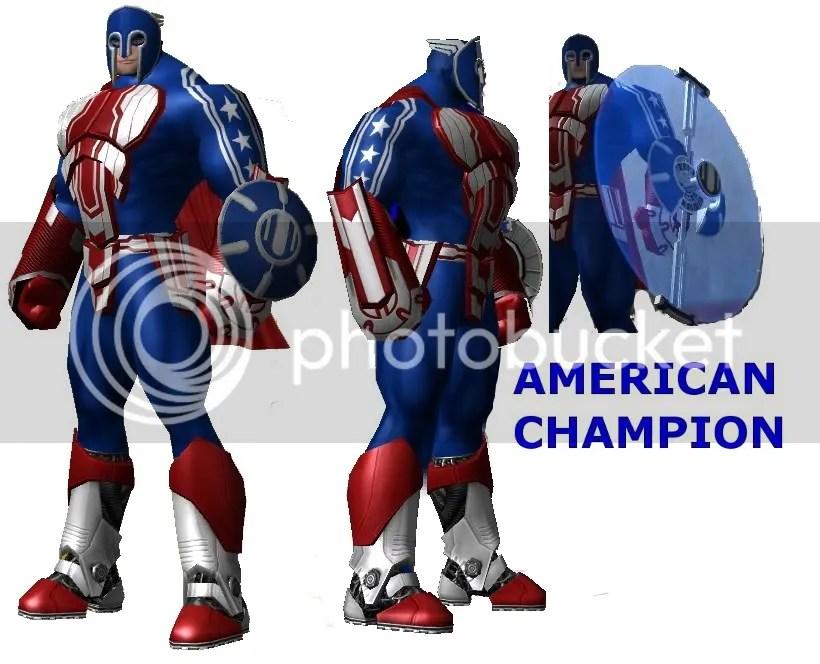 American Champion,Super hero,City of Heroes,COH,COmic