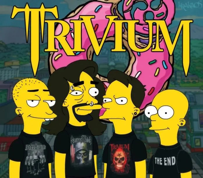 Trivium Simpsonized