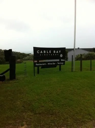 Cable Bay Vineyards New Zealand