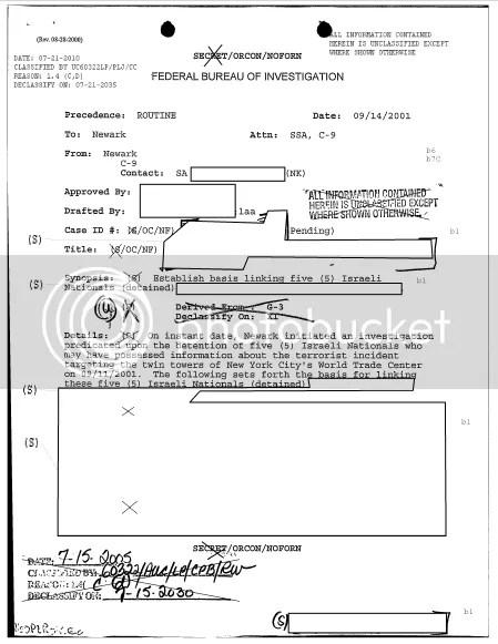 EvidenceLinkingIsraelisTo911
