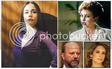 Taís Grimaldi, Odete Roithman, Adalberto e Laura