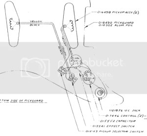 Fender Lead II Wiring Diagram Photo by Flamingouthouse