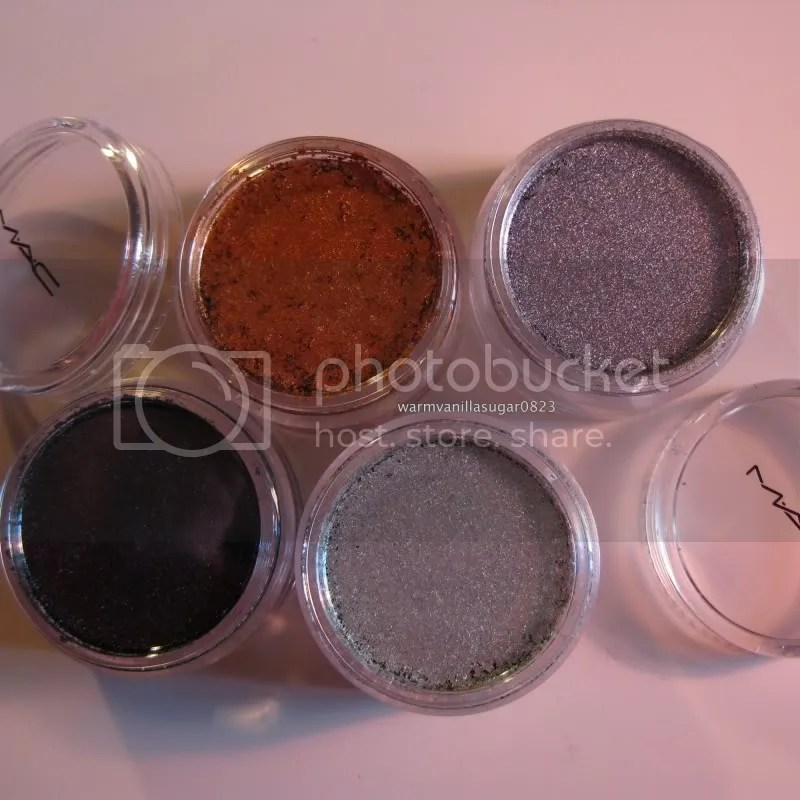 warmvanillasugar0823,Mac Surf! Baby Collection,Mac Surf The Ocean Crushed Metal Pigment Stack