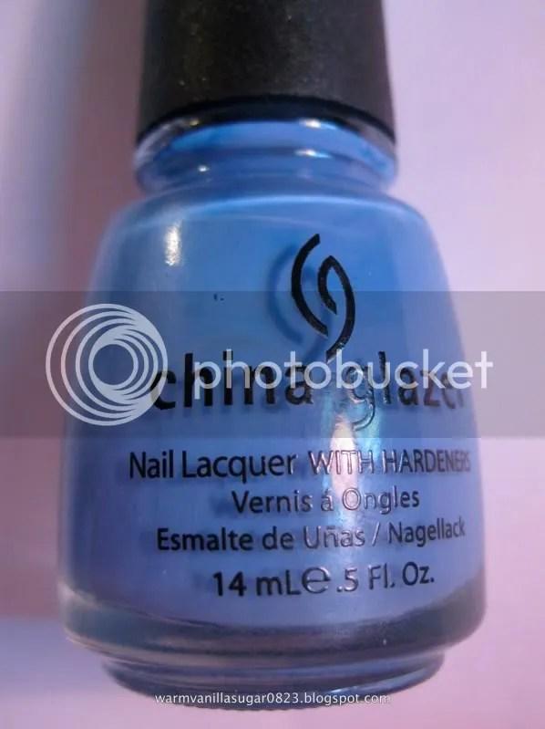 China Glaze Secret Periwinkle,warmvanillasugar0823