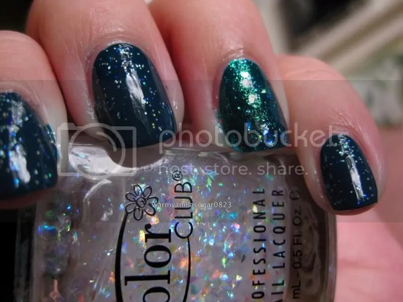Color Club Covered In Diamonds,Color Club Si Vous Please!,Rescue Beauty Lounge Teal,Zoya Charla,warmvanillasugar0823