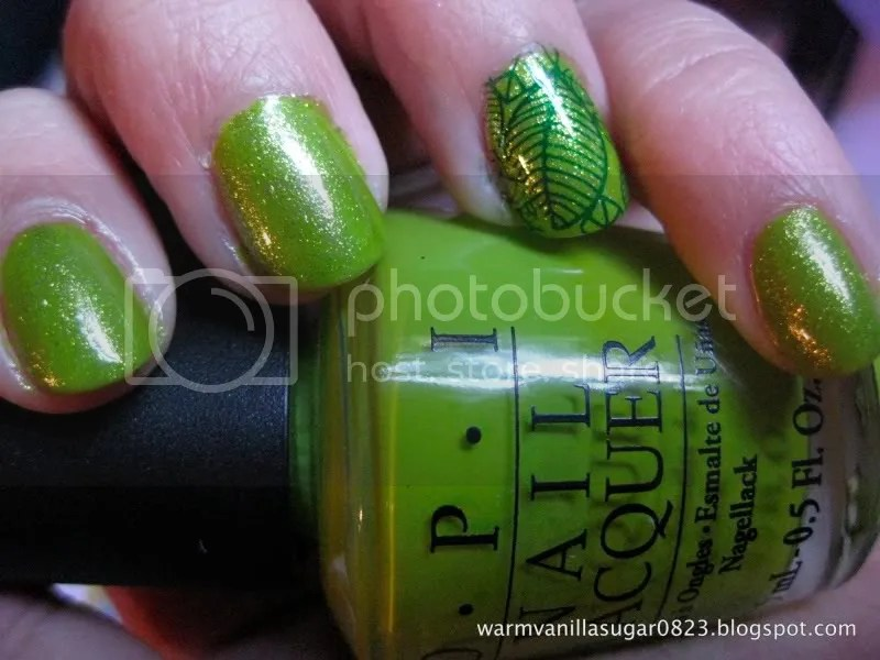 OPI Who The Shrek Are You?,OPI Simply Smashing,Bundle Monster Nail Stamping,warmvanillasugar0823