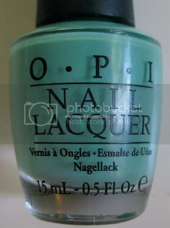 OPI Mermaid's Tears,OPI Pirates Of The Caribbean Collection,warmvanillasugar0823