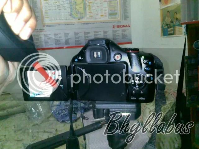 Blower untuk badan kamera