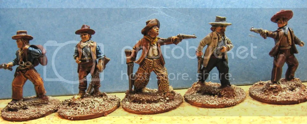 Old Glory 25mm Cowboys 100