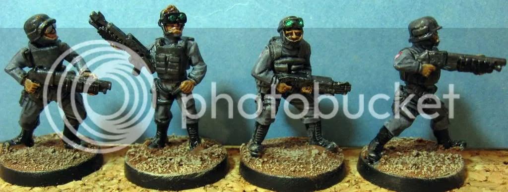 SWAT w/ Shotguns
