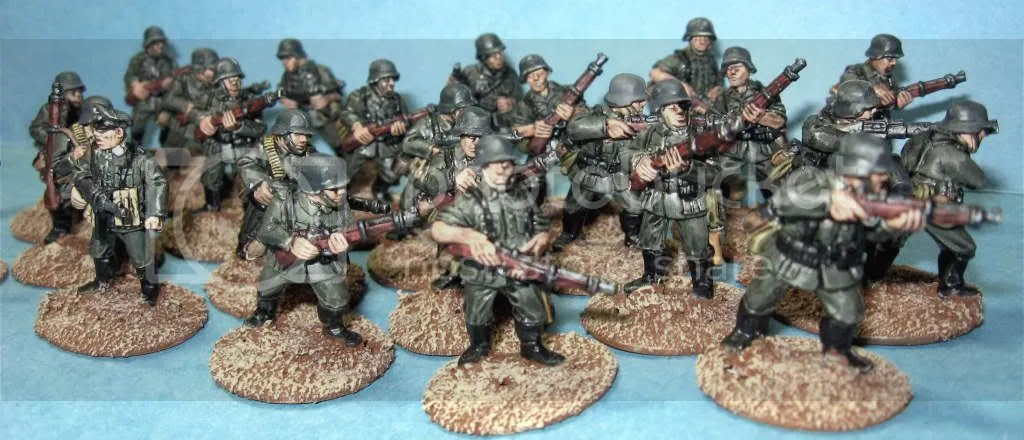 Crusader 25mm German Platoon