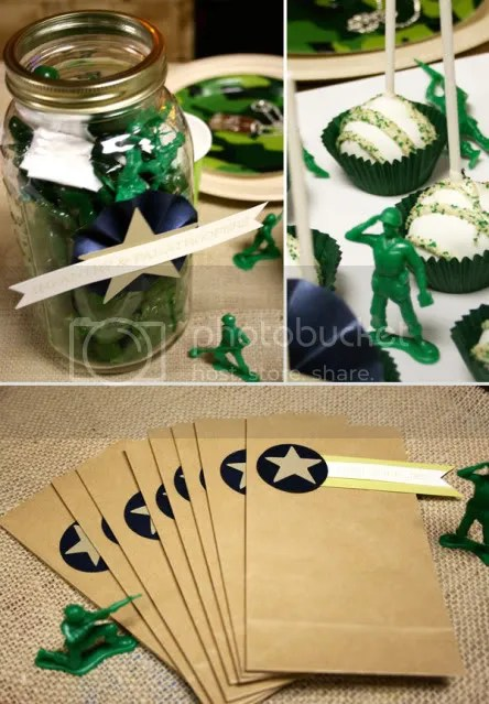 Kara S Party Ideas Green Army Man Birthday Party Kara S
