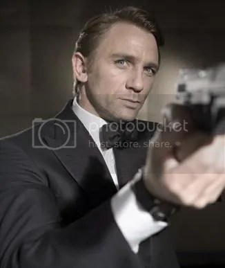 Bond 22 stars Daniel Craig as Agent 007.
