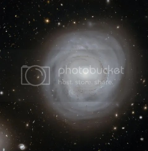 Galaxy NGC 4921, The Coma Cluster