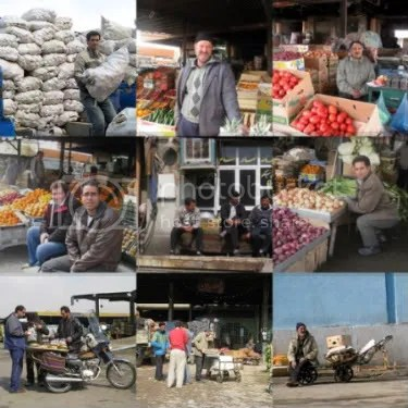Tehran Fruit Market