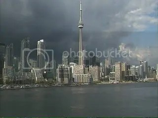 Toronto Harbour Webcam Storm