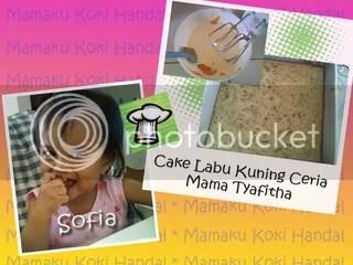cake labu kuning ceria