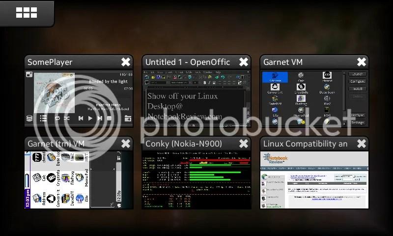N900 Multitaskting.