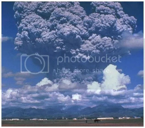 Mount Pinatubo eruption