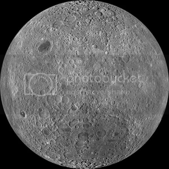 The far side of the moon.