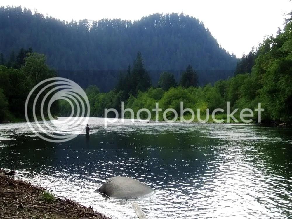 The Lone Fisherman.