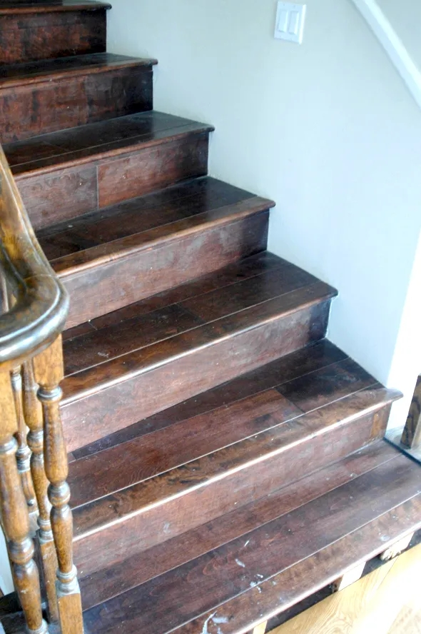 The Staircase Dread For Treads Juniper Home   White Oak Stair Treads Lowes   Stairtek Retrotread   Red Oak   Unfinished   Staircase Remodel   Wood
