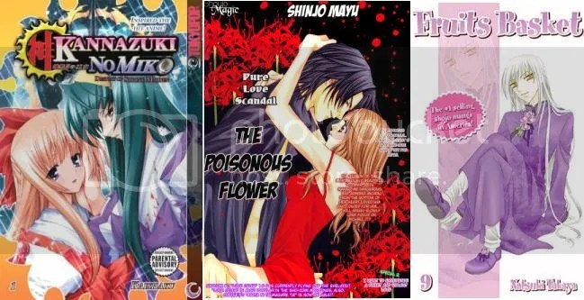A Selection of Manga Review Covers.