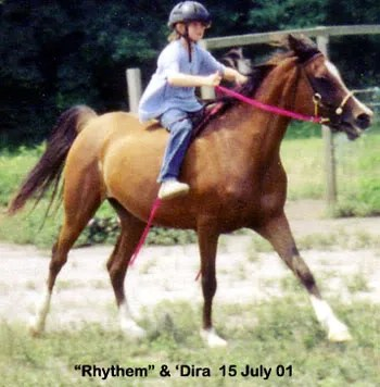 Dira and Rhythem racing at LP Painted Ponys - Parkton