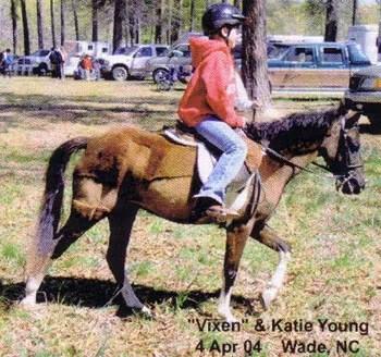 Katie & Vixen - 2004