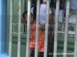 Girl Behind Bars (c) Lynda Bernhardt