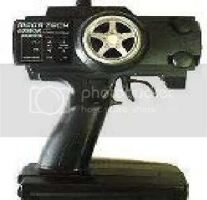 nitro rc car pistol type transmitter