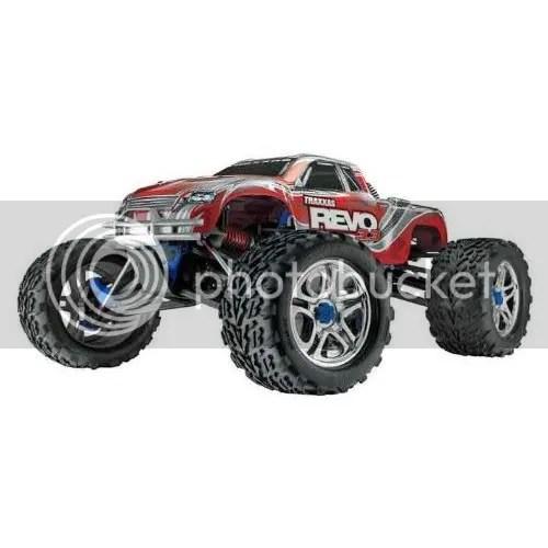 Traxxas Revo RTR Nitro rc truck