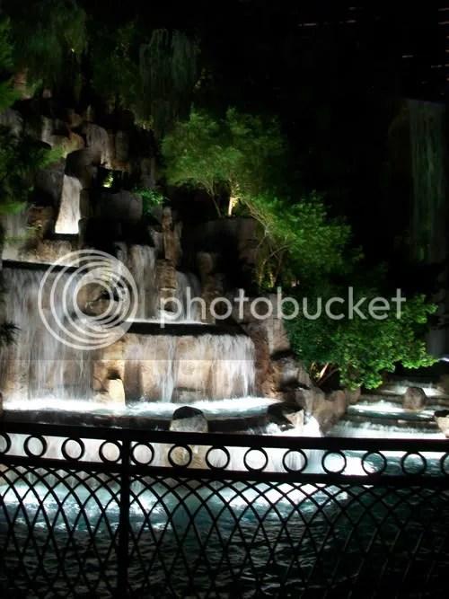 Las Vegas Waterfall