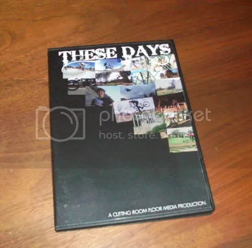 These Days BMX DVD