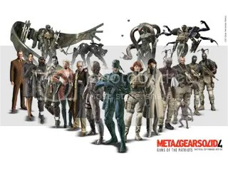 Metal Gear Solid 4 wallpaper